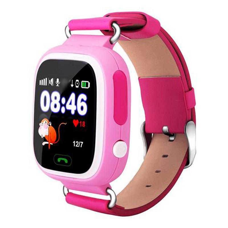 GeoKid Kouros Reloj Con GPS Para Niños Rosa