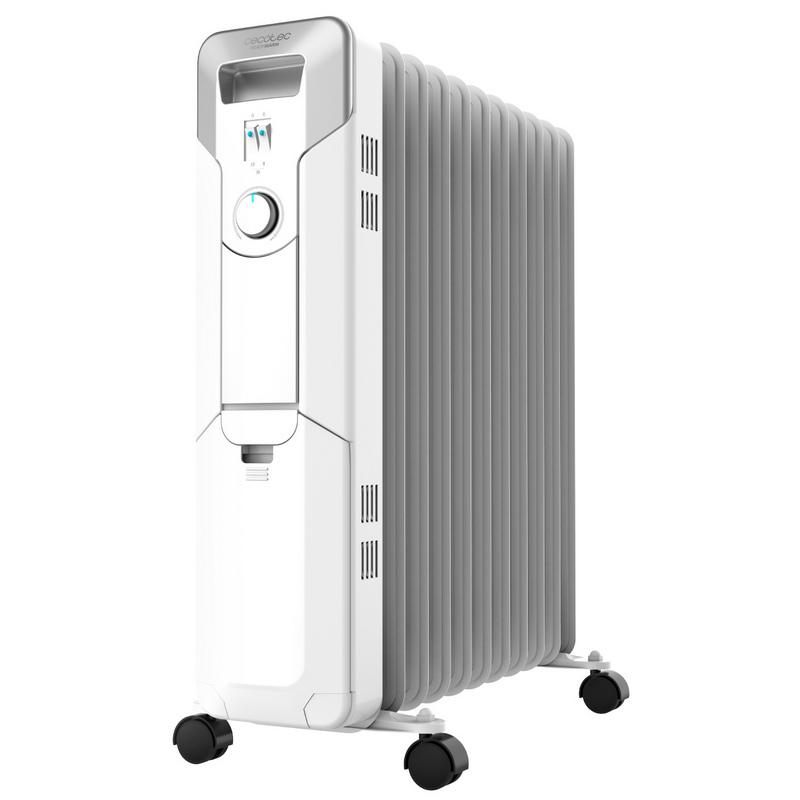 cecotec ready warm 5700 space radiador de aceite 2500w blanco