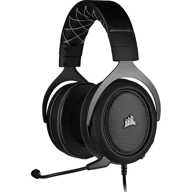 Corsair HS60 Pro Surround Auriculares Gaming 7.1 Gris Carbón