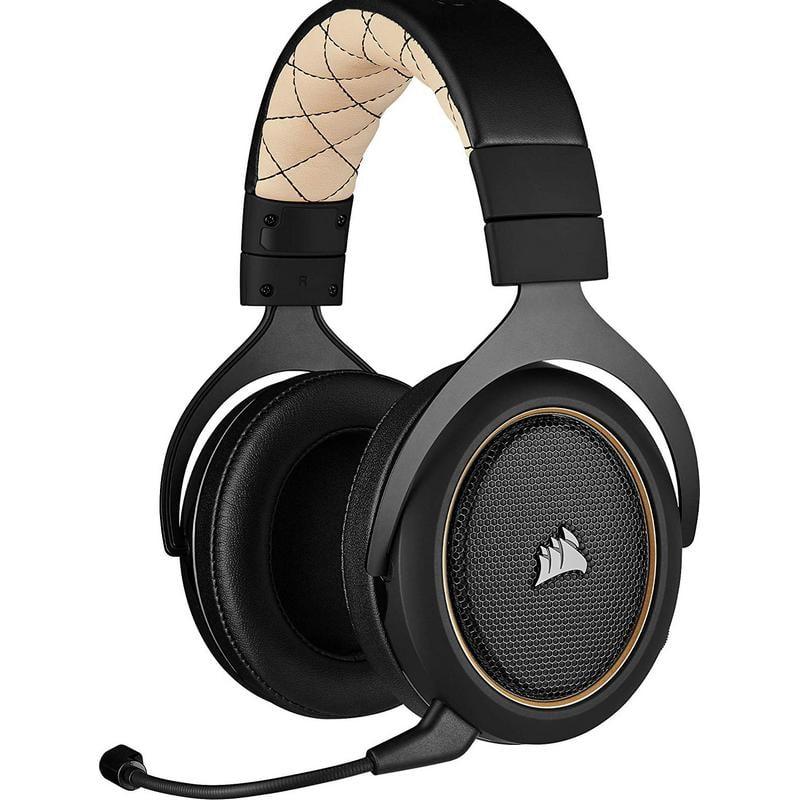 Corsair HS70 Pro Wireless Auriculares Gaming Inalámbricos 7.1 Crema