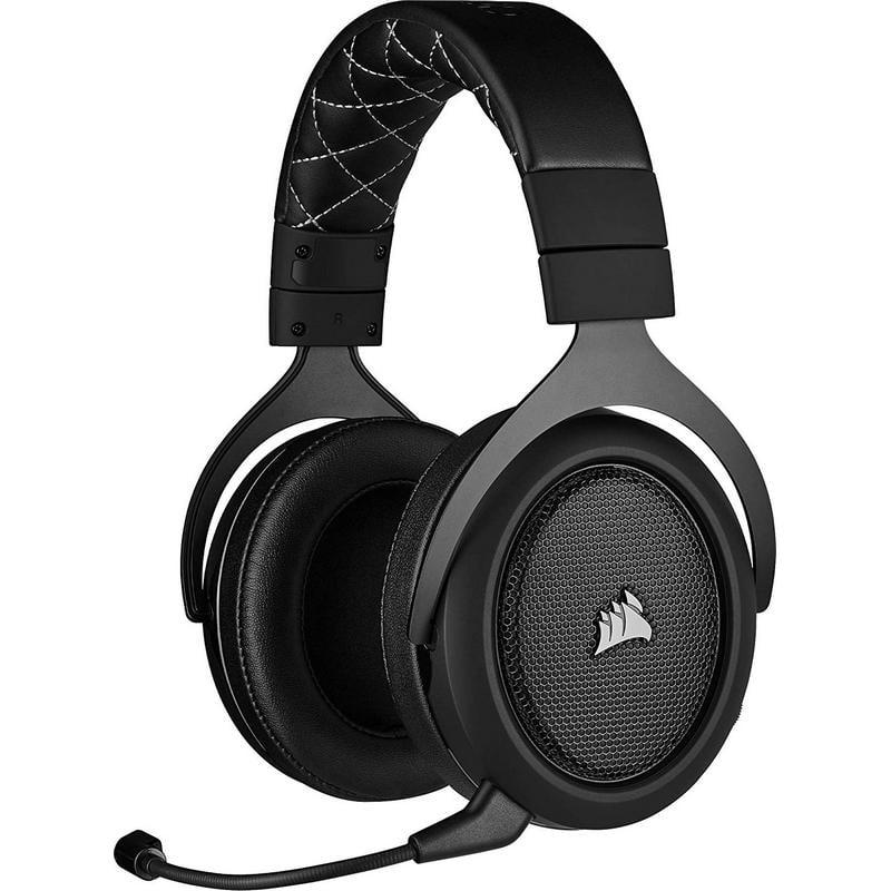 Corsair HS70 Pro Wireless Auriculares Gaming Inalámbricos 7.1 Gris Carbón
