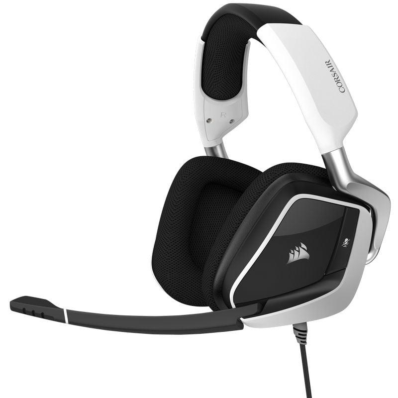 Corsair Void Elite RGB USB Auriculares Gaming 7.1 Blancos