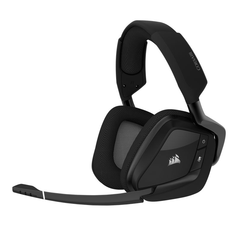 Corsair Void Elite Wireless Auriculares Gaming Inalámbricos 7.1 Gris Carbón