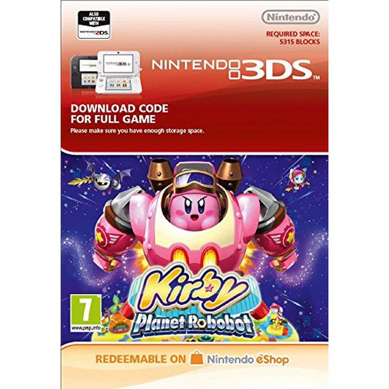 Kirby Planet Robobot Nintendo 3DS Nintendo