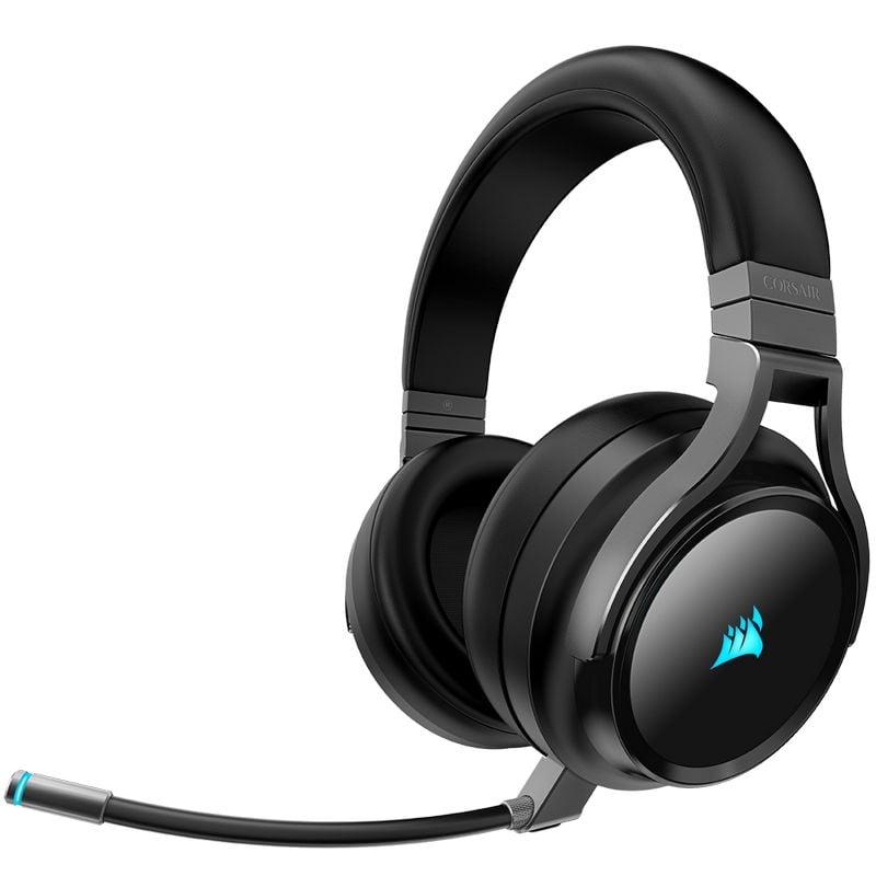 Corsair Virtuoso RGB Wireless Auriculares Gaming 7.1 Inalámbricos Carbón