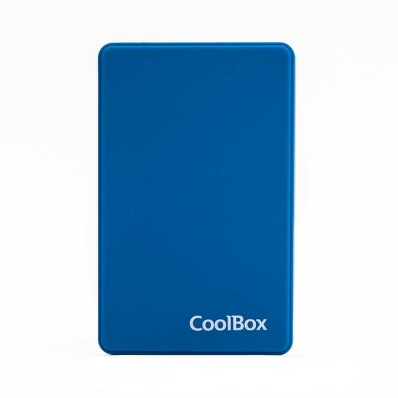 CoolBox SlimColor 2543 Carcasa Disco Duro USB 3.2 Azul