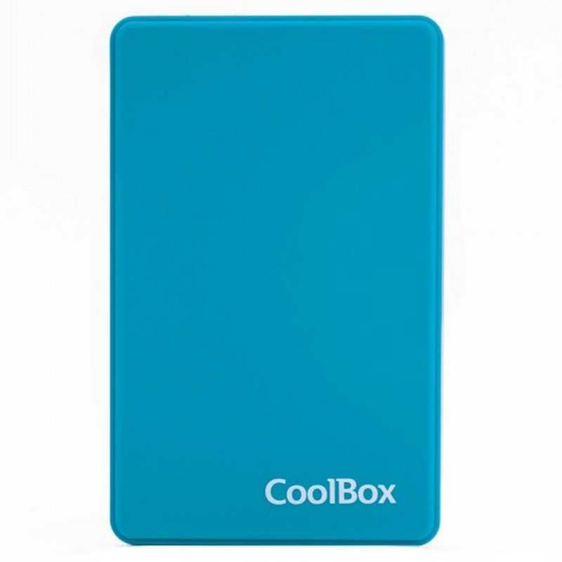 CoolBox SlimColor 2543 Carcasa Disco Duro USB 3.2 Azul Claro