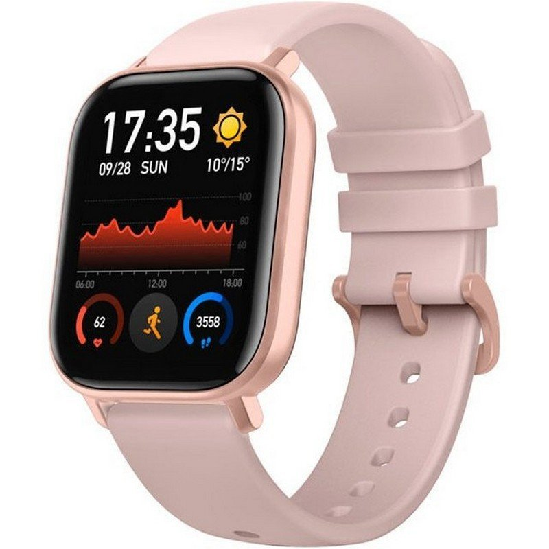 Amazfit GTS Reloj Smartwatch Rose Pink |