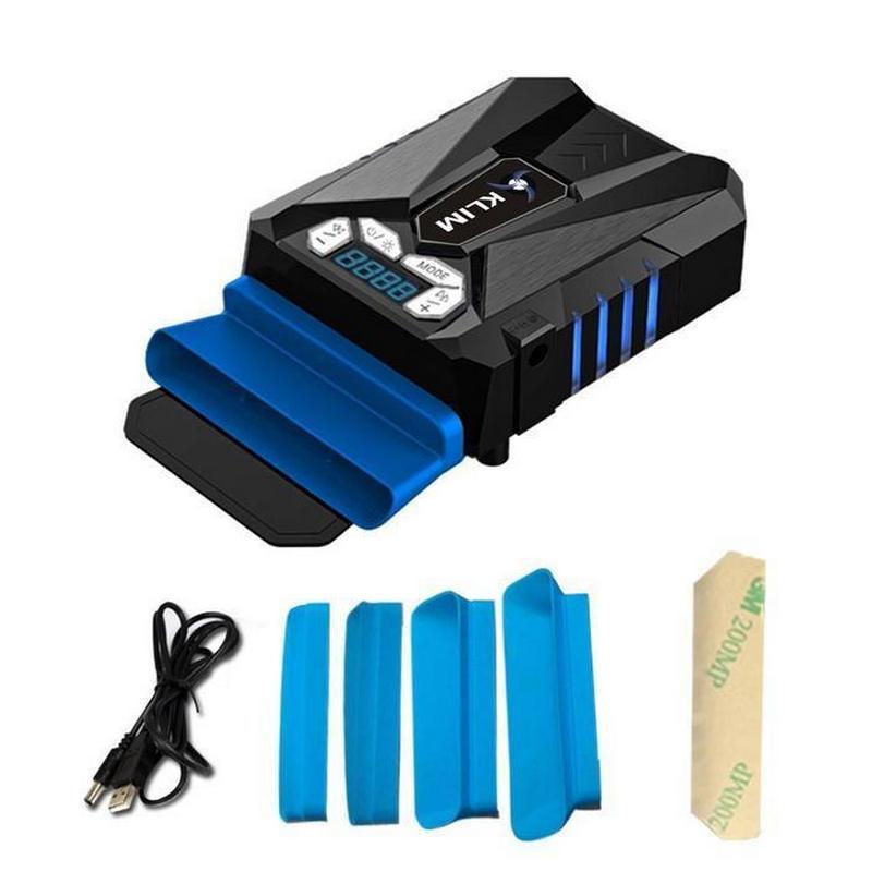 Klim Cool Refrigerador para Ordenador Portátil Negro/Azul