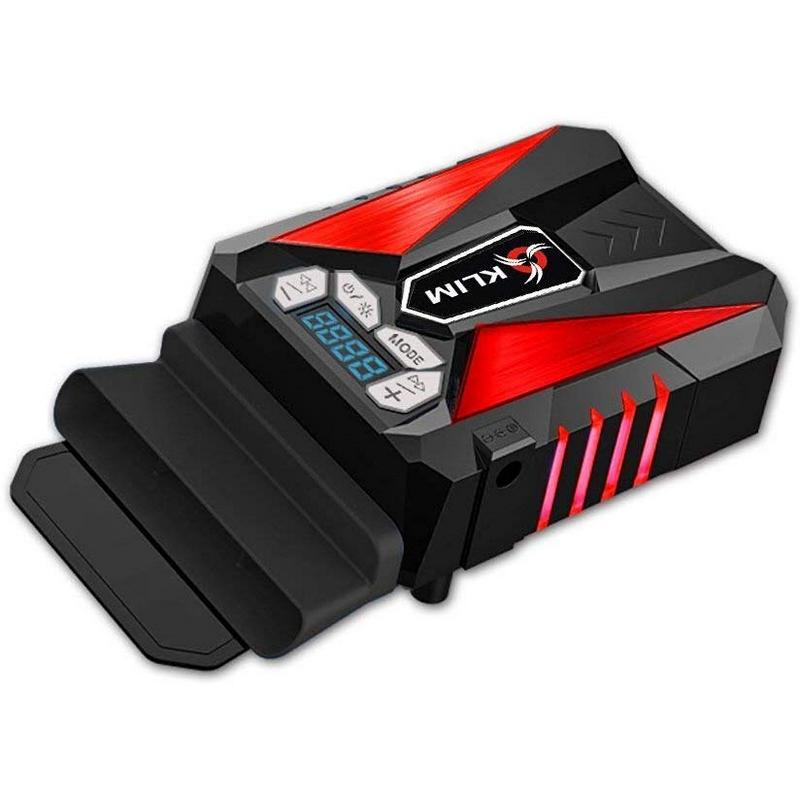 Klim Cool Refrigerador para Ordenador Portátil Negro/Rojo
