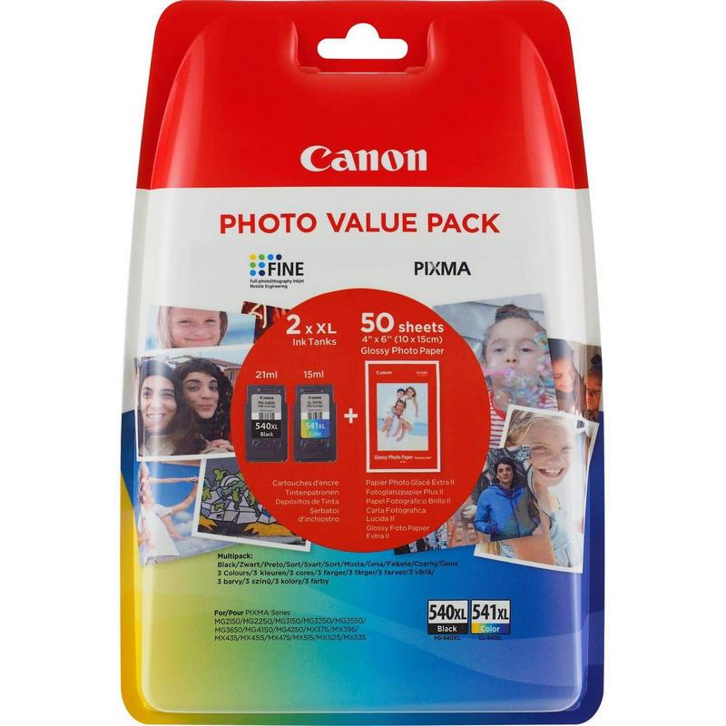 Canon PG-540XL/CL541XL Multipack Original Negro/Color