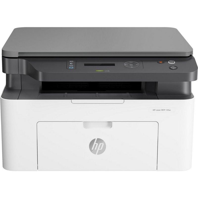 HP Laser MFP 135w (4ZB83A) - Impresoras multifunción