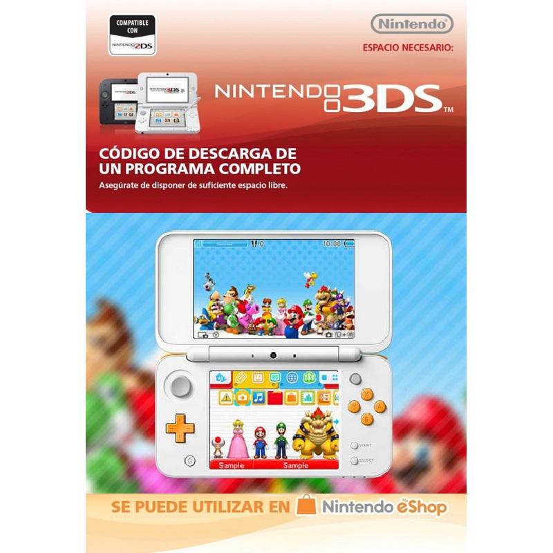 Mario Characters Tema Nintendo 3DS Nintendo