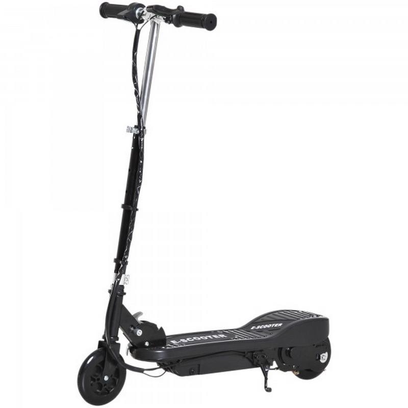 Patiente eléctrico HomCom E-Scooter Patinete Eléctrico Plegable 120W Negro