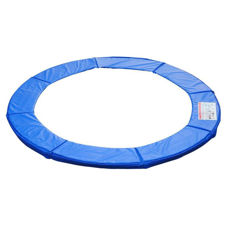 homcom cubierta de proteccion borde cama elastica 305m