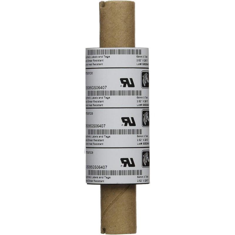 Zebra 5095 Resin Ribbon Cinta Para Impresoras Pack 12