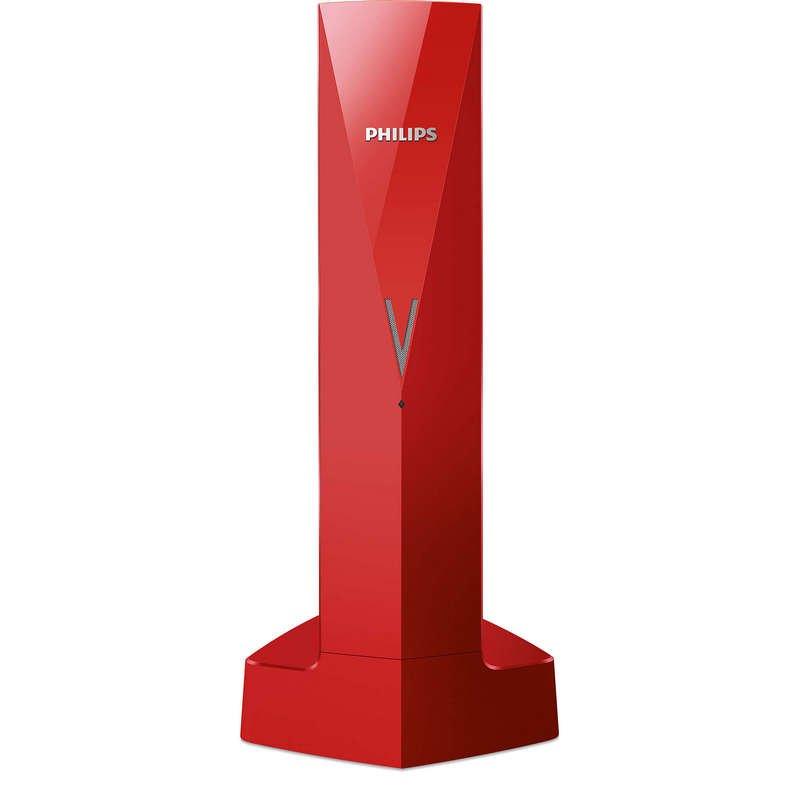 Philips Línea V M3501R/23 Teléfono Inalámbrico De Diseño Rojo