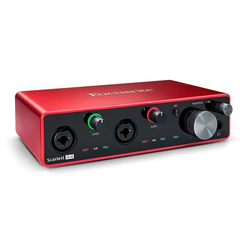 Focusrite Scarlett 4i4 3rd Gen Interfaz de Audio USB