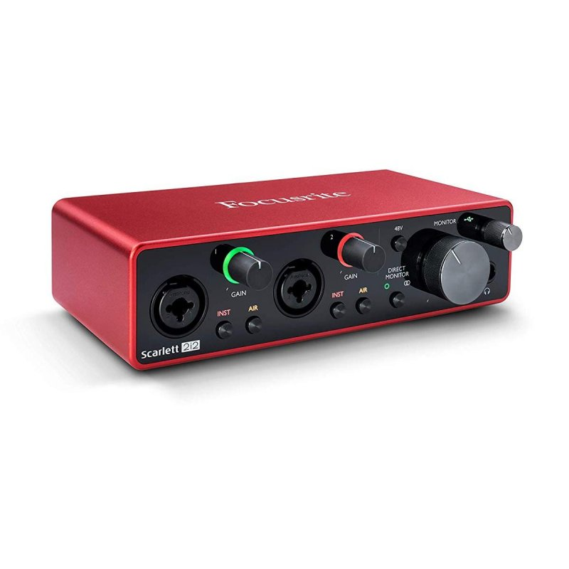 Focusrite Scarlett 2i2 3rd Gen Interfaz de Audio USB