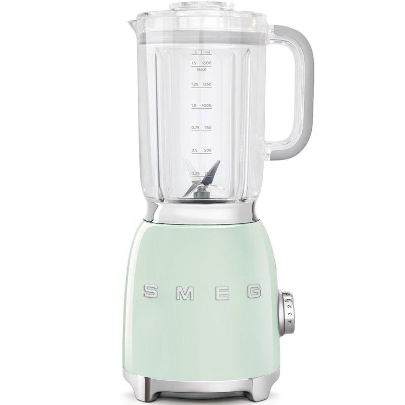 Smeg BLF01PGEU Batidora de Vaso 1.5L 800W Verde Pastel