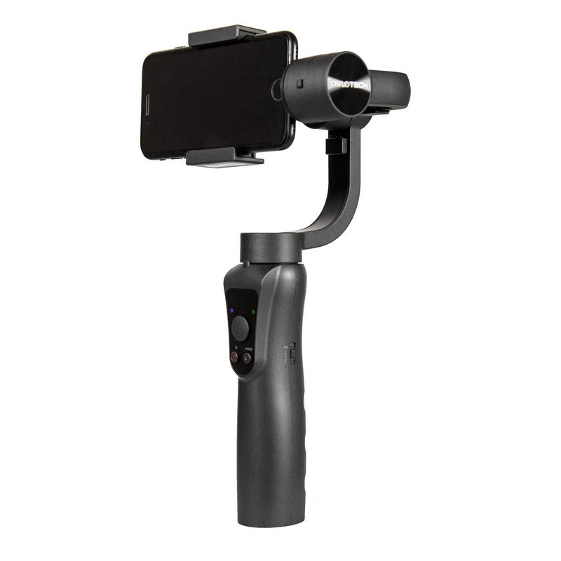 owlotech gimbal 3 ejes para smartphone