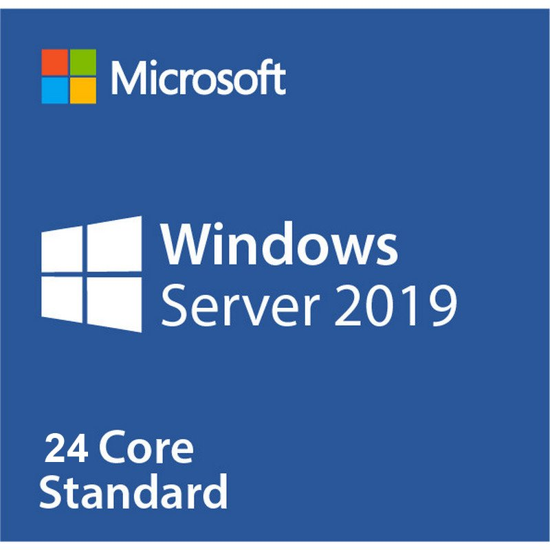 Microsoft Windows Server 2019 Standard 64 Bits 24 Núcleos OEM