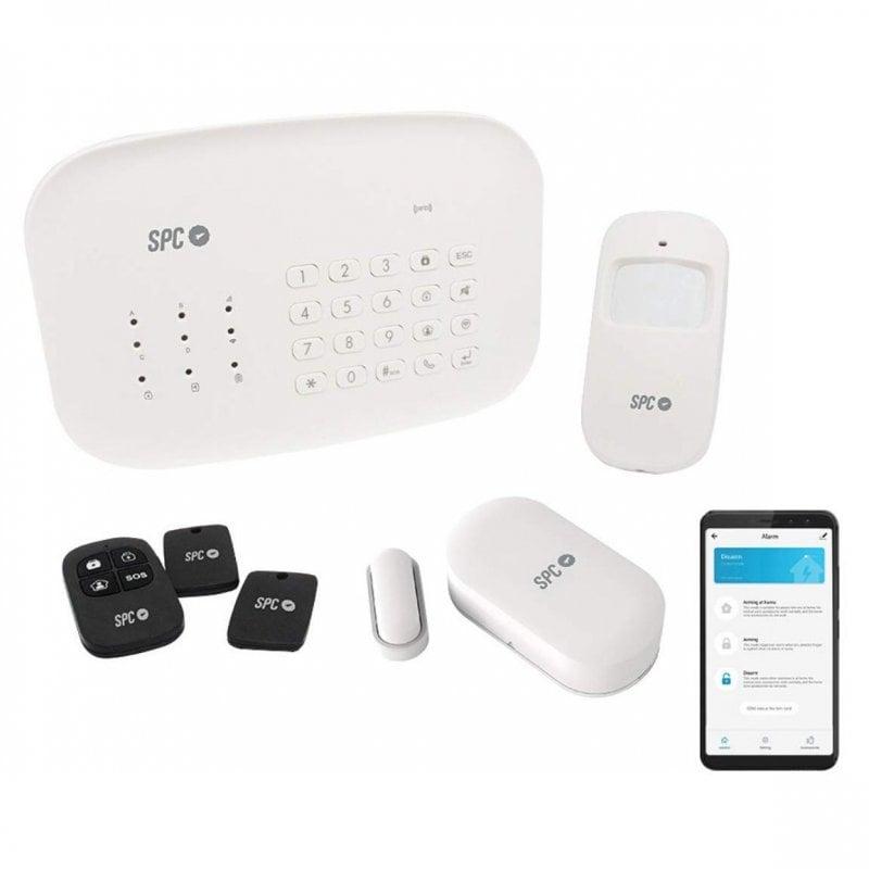 spc interceptio sistema de alarma inteligente