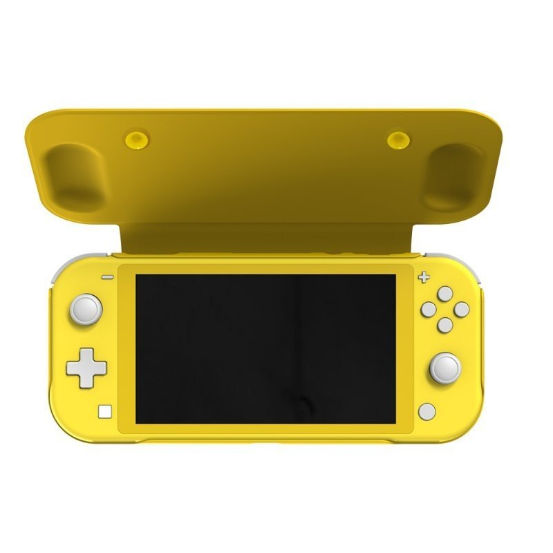 fr-tec flip case amarilla para nintendo switch lite