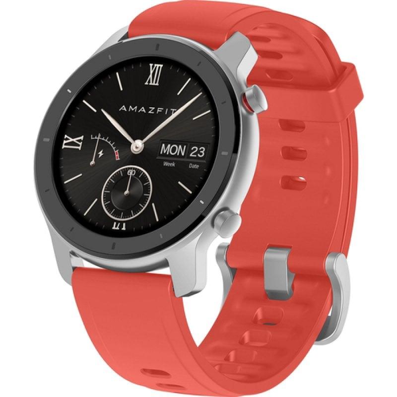 Amazfit GTR Reloj Smartwatch 42mm Coral Red