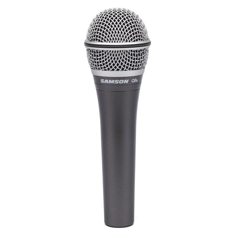 Samson Q8x Micrófono Vocal Dinámico Profesional