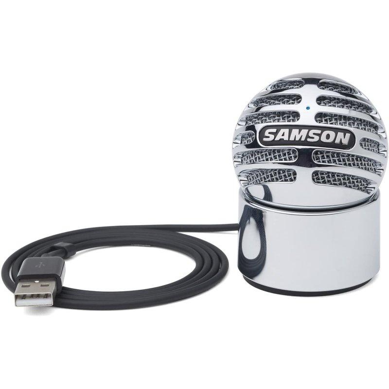 Samson Meteorite Micrófono De Condensador USB Plata