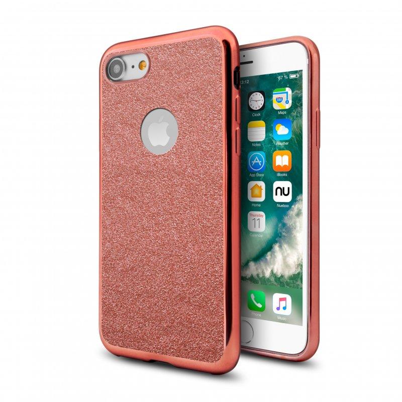 Nueboo Funda Star Light Rosa para iPhone 7/8/SE 2020