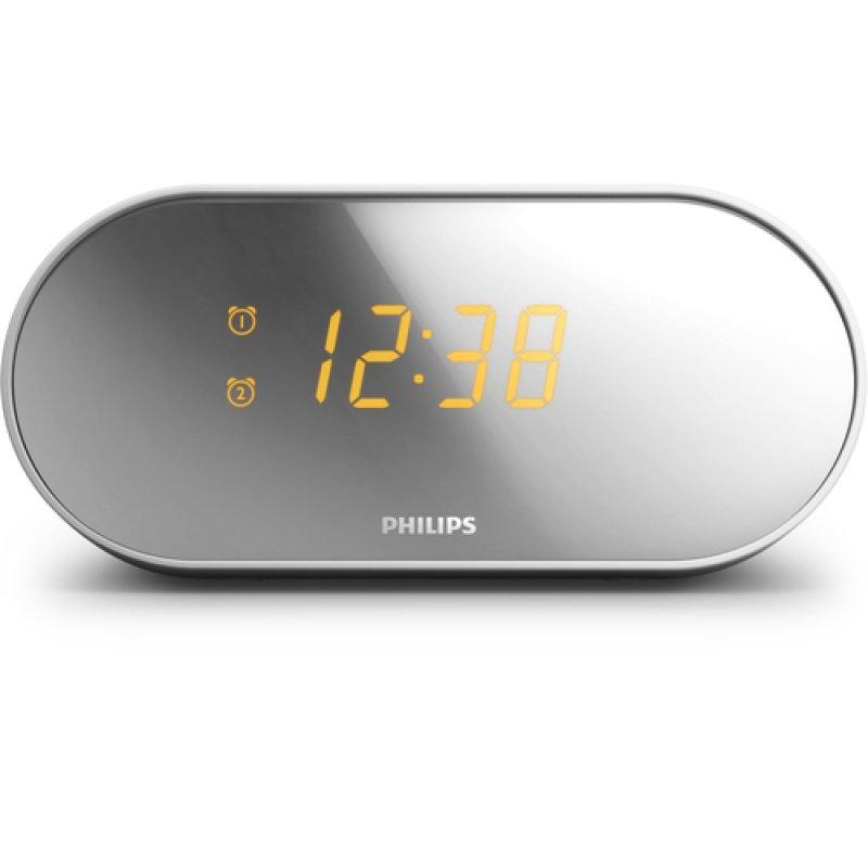Philips AJ2000 Radio Despertador Gris