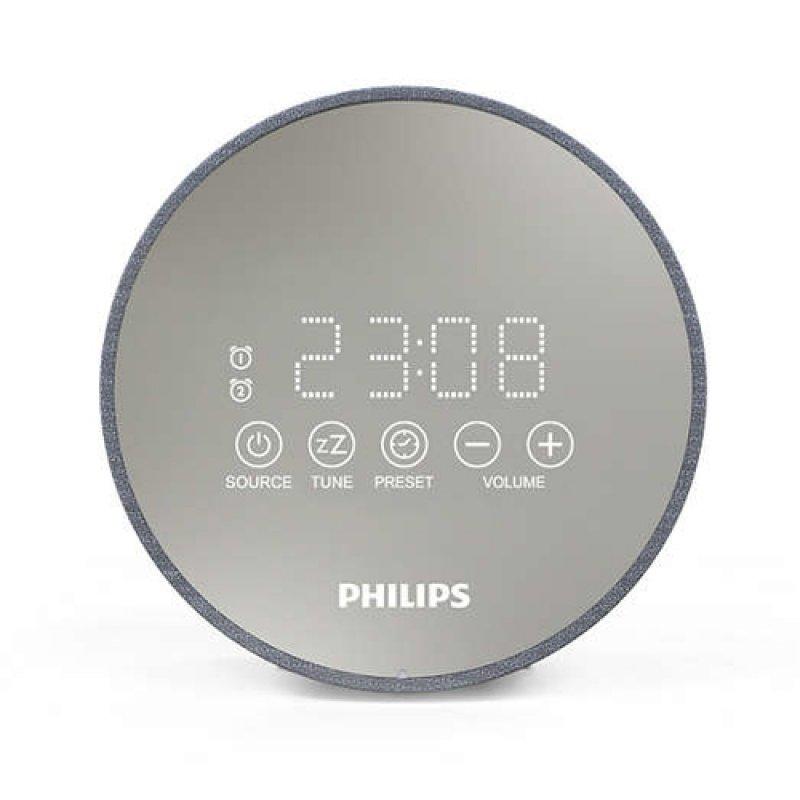 Philips TADR402 Radio Despertador Gris