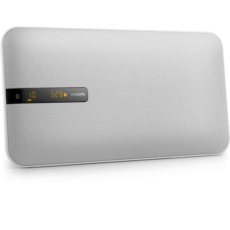 Philips BTM2660 Microcadena Bluetooth Blanca