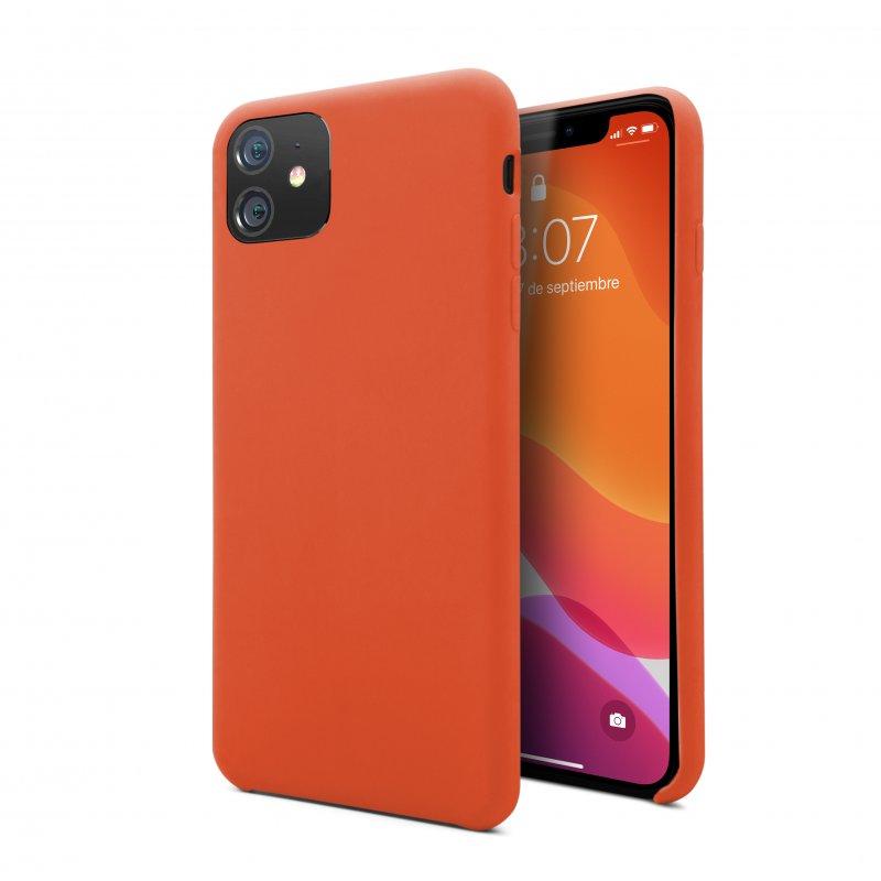 Nueboo Funda Soft Naranja para iPhone 11
