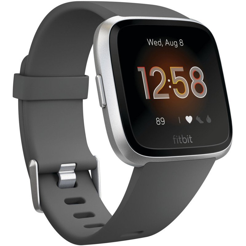 Fitbit Versa Lite Gris Carbón/ Aluminio