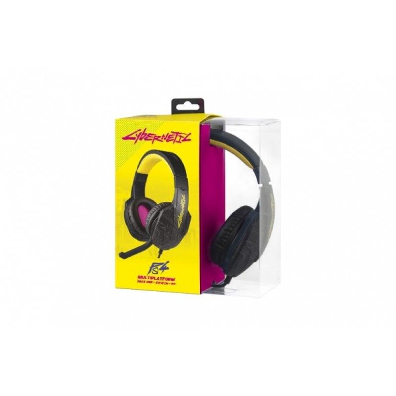 Indeca Cybernetic Auriculares Gaming Multiplataforma