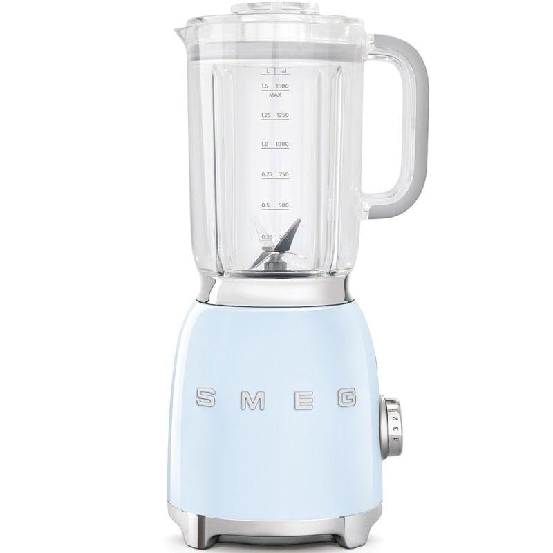 Smeg BLF01PGEU Batidora De Vaso 1.5L 800W Azul
