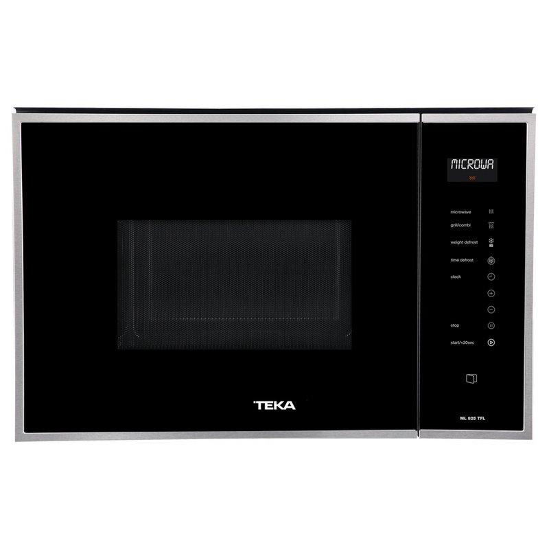 Teka ML 825 TFL Microondas Integrable Con Grill 25L 900W Negro/Inox