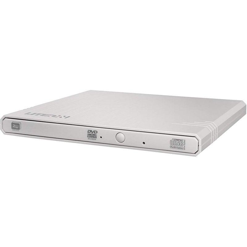 Liteon EBAU108 Grabadora DVD Slim Externa USB Blanca