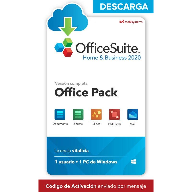 OfficeSuite Home & Business 2020 Licencia Completa 1 PC/Usuario