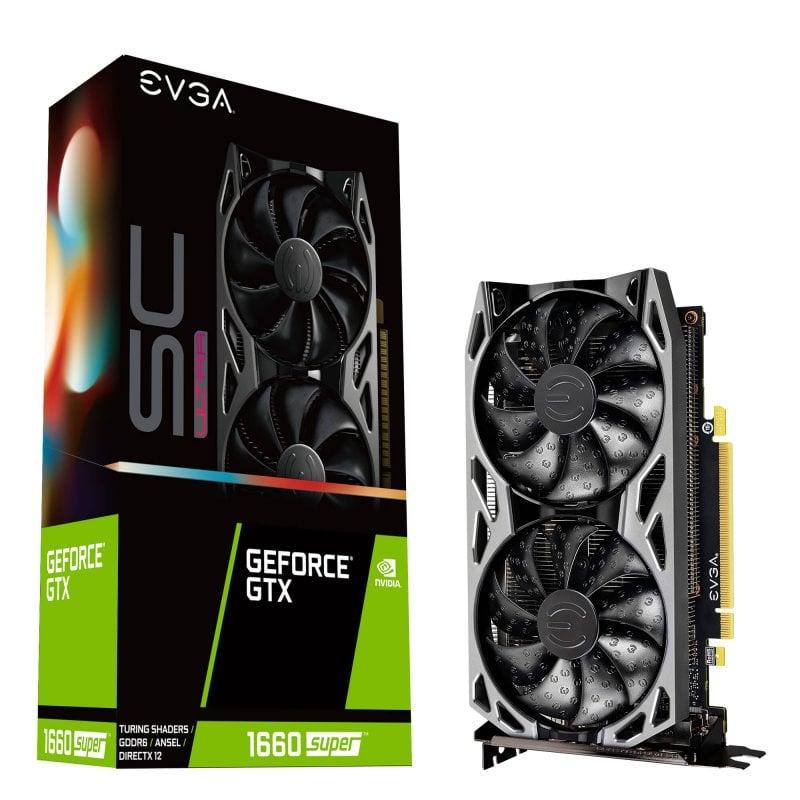 EVGA GeForce GTX 1660 SUPER SC ULTRA GAMING 6GB GDDR6