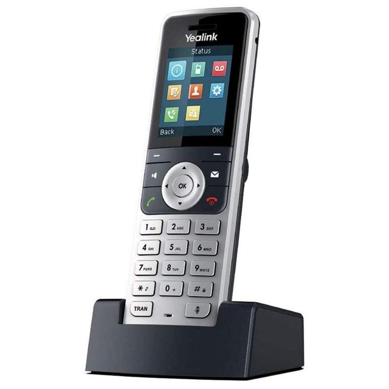 Yealink W53H Teléfono DECT Plata