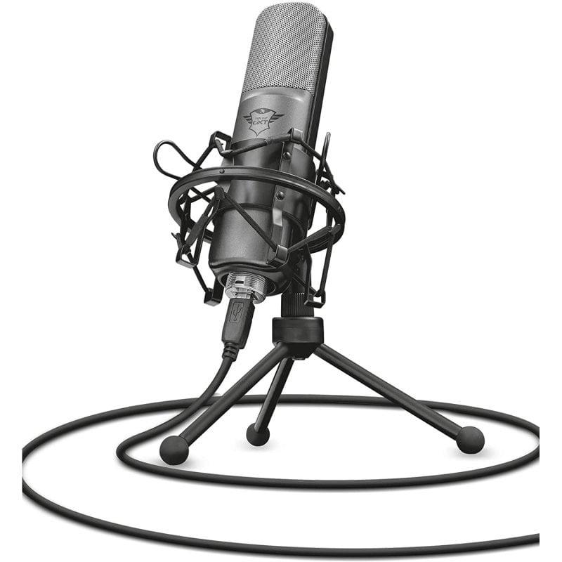 Trust GXT 242 Lance Streaming Micrófono Condensador Cardioide