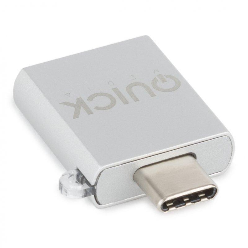 Quick Media Adaptador USB Tipo C a USB 3.0