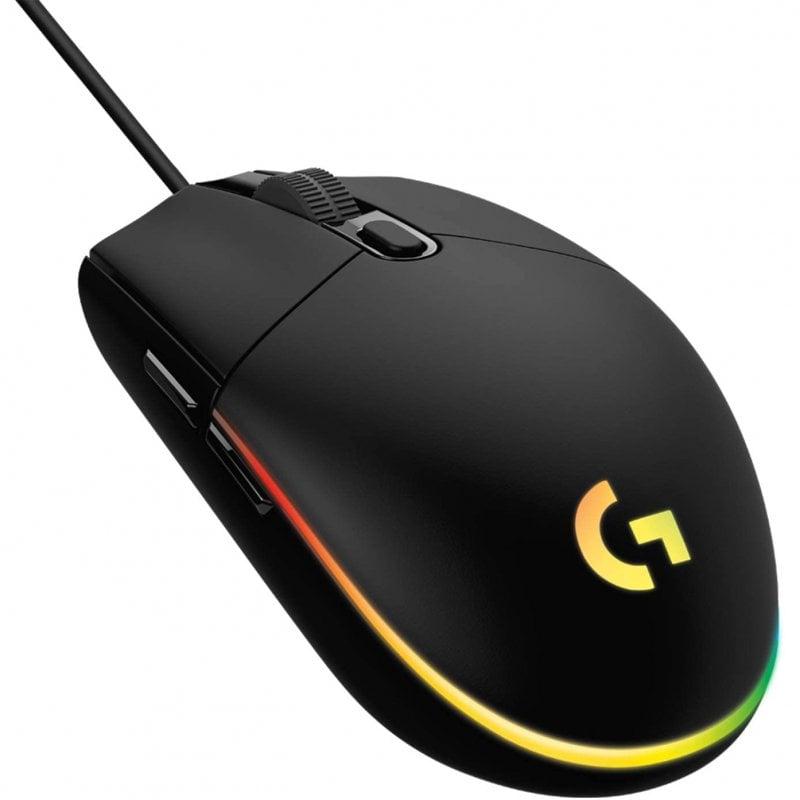 Logitech G203 Lightsync 2nd Gen Ratón Gaming 8000DPI RGB Negro