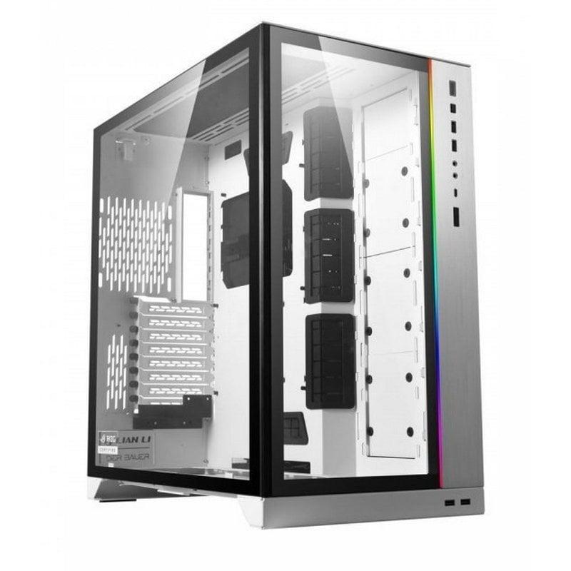Lian-Li PC-O11D Dynamic XL ROG Edition Torre ATX Blanca
