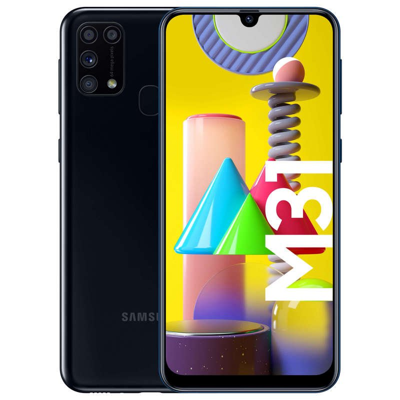 Samsung Galaxy M31 6/64GB Negro Libre