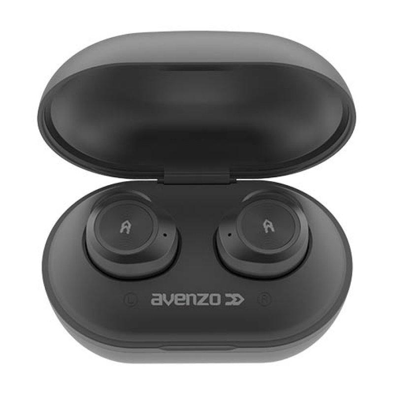 Avenzo AV-TW5001B Auriculares Bluetooth Negros